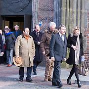 NLD/Utrecht/20140215 - Herdenkingsdienst Els Borst in de Domkerk, Piet Hein Donner