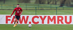 CARDIFF, WALES - Monday, October 5, 2020: Wales' Ben Woodburn during a training session at the Vale Resort ahead of the International Friendly match against England. (Pic by David Rawcliffe/Propaganda)