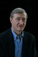 Acclaimed British writer Julian Barnes, pictured at the Edinburgh International Book Festival, where he discussed his collection of stories entitled 'The Lemon Tree' and his other works. The book festival was a part of the Edinburgh International Festival, the largest annual arts festival in the world.