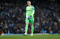 Football - 2018 / 2019 Premier League - Manchester City vs. Everton<br /> <br /> Jordan Pickford of Everton at The Etihad.<br /> <br /> COLORSPORT/LYNNE CAMERON