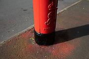 Resprayed post office Royal Mail letter box in Birmingham, United Kingdom. A post box, also known as a collection box, mailbox, letter box or drop box is a physical box into which members of the public can deposit outgoing mail intended for collection by the agents of a countrys postal service.