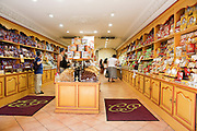 interior of a confectionery shop, Nice, France