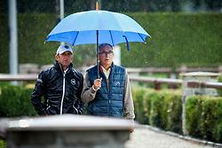 Rozier Philippe, Guerdat Philippe<br /> LGCT Valkenswaard 2015<br /> © Sharon Vandeput<br /> 15/08/15