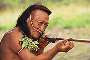 Yaminahua Indian with Arrow<br />