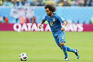 Marcelo of Brazil during the 2018 FIFA World Cup Russia, Group E football match between Brazil and Costa Rica on June 22, 2018 at Saint Petersburg Stadium in Saint Petersburg, Russia - Photo Thiago Bernardes / FramePhoto / ProSportsImages / DPPI