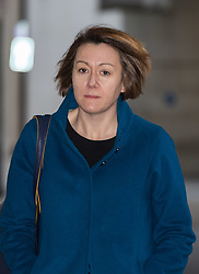 London - Former Haringey Council Leader Claire Kober arrives at the BBC's Broadcasting House in London to appear on the Andrew Marr Show. February 04 2018.