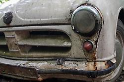 20.01.2017, Autofriedhof, Mettmann, GER, Mettmann Autofriedhof, im Bild Rostiger Trabant verwittert auf einem Autofriedhof // cars on a weather on a car graveyard Autofriedhof in Mettmann, Germany on 2017/01/20. EXPA Pictures © 2016, PhotoCredit: EXPA/ Eibner-Pressefoto/ Deutzmann<br /> <br /> *****ATTENTION - OUT of GER*****