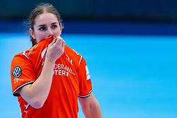 Laura van der Heijden of Netherlands in action during the Women's EHF Euro 2020 match between Netherlands and Norway at Sydbank Arena on december 10, 2020 in Kolding, Denmark (Photo by RHF Agency/Ronald Hoogendoorn)