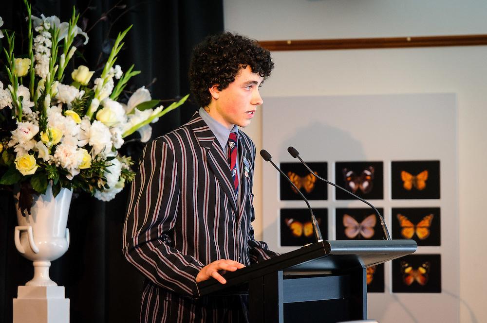 WELLINGTON, NEW ZEALAND - December 02: Prime Ministers Science Prizes December 02, 2014 in Wellington, New Zealand.  (Photo by Mark Tantrum/ mark tantrum.com)