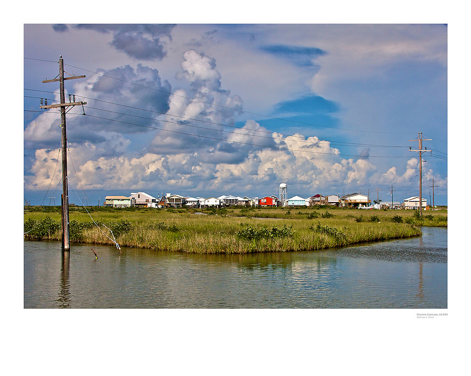 Cheniere Caminada, Louisiana<br /> <br /> Limited Edition Fine Art Poster.<br /> <br /> Original Print received Award of Excellence, 8th Annual Grand Isle Juried Art Exhibit