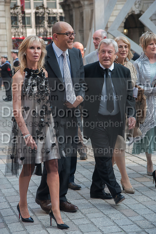 SUSAN SANGSTER; BRUCE OLDFIELD; TERRY O'NEILL;, Celebration of the Arts. Royal Academy. Piccadilly. London. 23 May 2012.