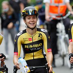 ZULTE (BEL) July 11 CYCLING: <br /> 4th Stage Baloise Belgium tour <br /> Karlijn Swinkels, Jip van den Bos,  Aafke Doet