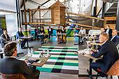 Maxima brengt werkbezoek aan Vakantiepark Beerze Bulten