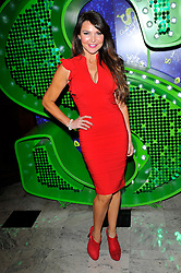 "Lizzie Cundy attends the Shrek ""Children in need"" Performance, Theatre Royal, Drury Lane, Covent Garden, London, UK, November 14, 2012. Photo by Chris Joseph / i-Images."