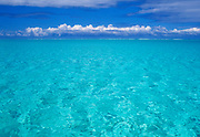 Image of the idyllic waters of Bora Bora, Tahiti, French Polynesia by Randy Wells