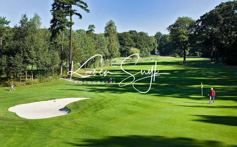 ENSCHEDE - Golfbaan- Het Rijk van SYBROOK, hole    .COPYRIGHT KOEN SUYK