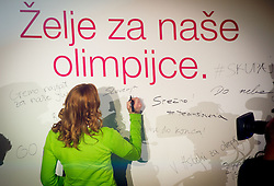 Petra Majdic during presentation of Team Slovenia for Sochi 2014 Winter Olympic Games on January 22, 2014 in Grand Hotel Union, Ljubljana, Slovenia. Photo by Vid Ponikvar / Sportida