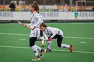 LAREN -  Hockey Hoofdklasse Dames: Laren v Pinoké, seizoen 2020-2021. Foto: Juliette van Hattum (Pinoké)
