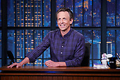 """May 04, 2021 - NY: NBC's """"Late Night With Seth Meyers"""" - Episode 1140A"""