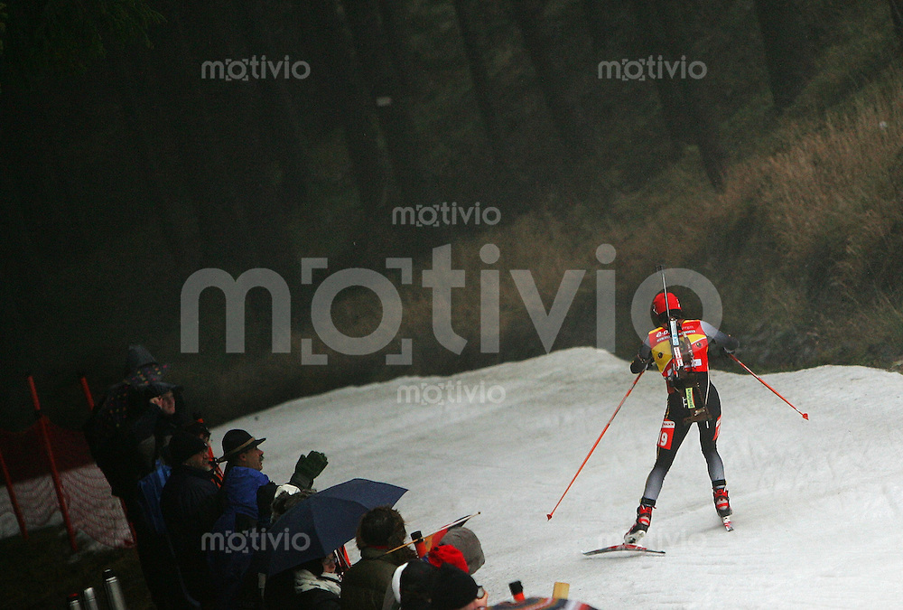 Oberhof , 050107 ; Biathlon Weltcup Oberhof , Sprintrennen , 7,5km der Frauen  Andrea HENKEL (GER)