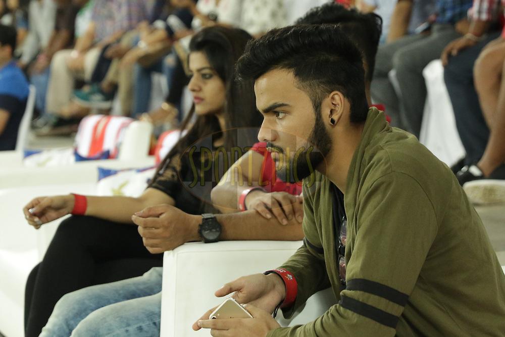 Vivid guests during match 24 of the Hero Indian Super League 2018 ( ISL ) between ATK and Bengaluru FC held at the Yuba Bharati Krirangan stadium (Salt Lake Stadium) in Salt Lake Kolkata, India on the 31st October<br /> <br /> Photo by Saikat Das /SPORTZPICS for ISL