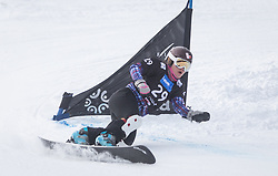 Ilyukhina Ekaterina during the FIS snowboarding world cup race in Rogla (SI / SLO) | GS on January 20, 2018, in Jasna Ski slope, Rogla, Slovenia. Photo by Urban Meglic / Sportida
