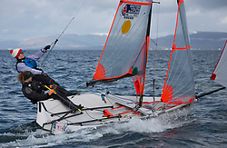 The annual RYA Youth National Championships is the UK's premier youth racing event. Perfect conditions for the fourth days racing.<br /> <br /> 2336, Hannah Bristow, Jessica Jobson, WPNSA/RTYC, 29er Girl <br /> <br /> Images: Marc Turner / RYA<br /> <br /> For further information contact:<br /> <br /> Richard Aspland, <br /> RYA Racing Communications Officer (on site)<br /> E: richard.aspland@rya.org.uk<br /> m: 07469 854599
