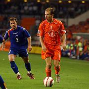 NLD/Eindhoven/20050907 - WK kwaificatiewedstrijd Nederland - Andorra, (11) Arjen Robben
