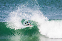 Jul 15, 2017 - Jeffreys Bay, South Africa - Rookie Leonardo Fioravanti of Italy advances to Round Two of the Corona Open J-Bay after placing second in Round One, Heat 7. (Credit Image: © Pierre Tostee/World Surf League via ZUMA Wire)