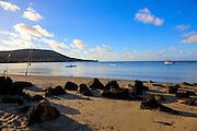 Sunrise, Maunalua Bay Beach Park, Hawaii Kai, Honolulu, Oahu, Hawaii