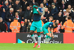 Tottenham Hotspur's Moussa Sissoko appears dejected after the final whistle