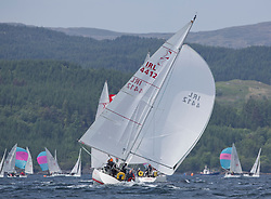 Sailing - SCOTLAND  - 27th May 2018<br /> <br /> 3rd days racing the Scottish Series 2018, organised by the  Clyde Cruising Club, with racing on Loch Fyne from 25th-28th May 2018<br /> <br /> GIRL4412, Miss Behavin, A Lennox / G Simpson, HSC, Sigma 33<br /> <br /> Credit : Marc Turner<br /> <br /> Event is supported by Helly Hansen, Luddon, Silvers Marine, Tunnocks, Hempel and Argyll & Bute Council along with Bowmore, The Botanist and The Botanist