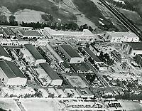 1936 Aerial of Fox Movietone Studios in West Los Angeles