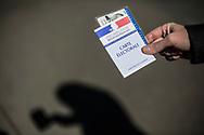23042017. Paris. 11ème arrondissement. Bureau de vote. Rue Keller. Ecole élémentaire.