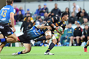 Chiefs Tupou Vaa'i during the Round 1 Trans-Tasman Super Rugby match between the Western Force and the Waikato Chiefs at HBF Park in Perth, Saturday, May 15, 2021. (AAP Image/Trevor Collens) NO ARCHIVING, EDITORIAL USE ONLY