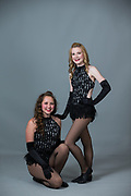 Lana's Dance School students pose for their portraits during Competition Photo Day 2017 at Lana's Dance School in Morgan Hill, California, on June 7, 2017. (Stan Olszewski/SOSKIphoto)