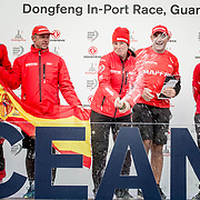 © Maria Muina I MAPFRE. MAPFRE, winner of the In Port Race in Guangzhou. El MAPFRE, vencedor de la regata costera de Guangzhou.