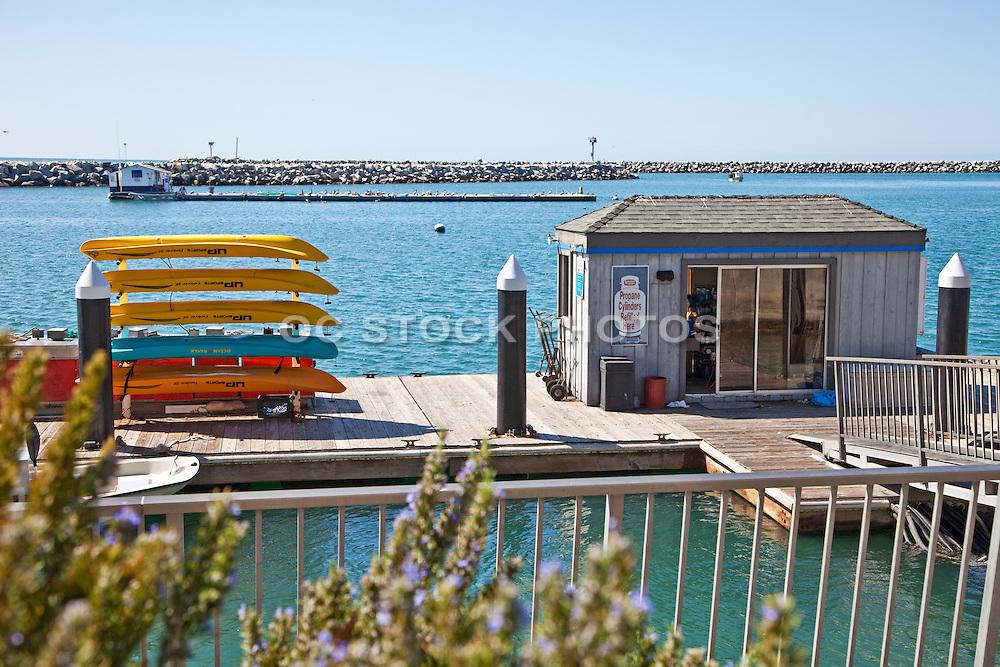 Fuel Dock In The Dana Point Harbor