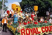 Aloha Week Parade, Waikiki, Oahu, Hawaii