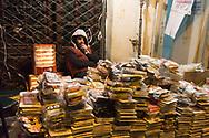 Iran , Tehran. street sellers  on Englabe avenue