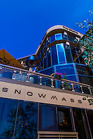 Snowmass Kitchen and Westin Snowmass Resort, Snowmass Village (Aspen), Colorado USA.