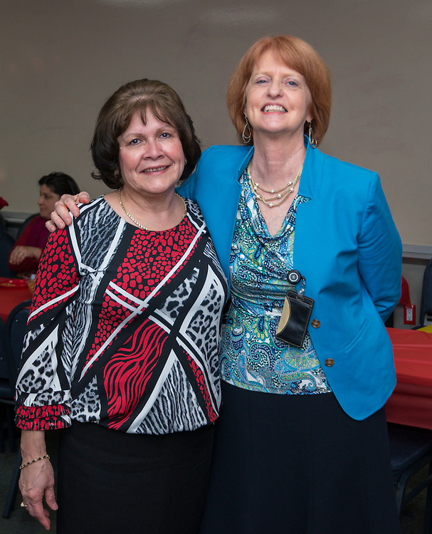 Retirement party for Nancy Gregory, December 16, 2014.
