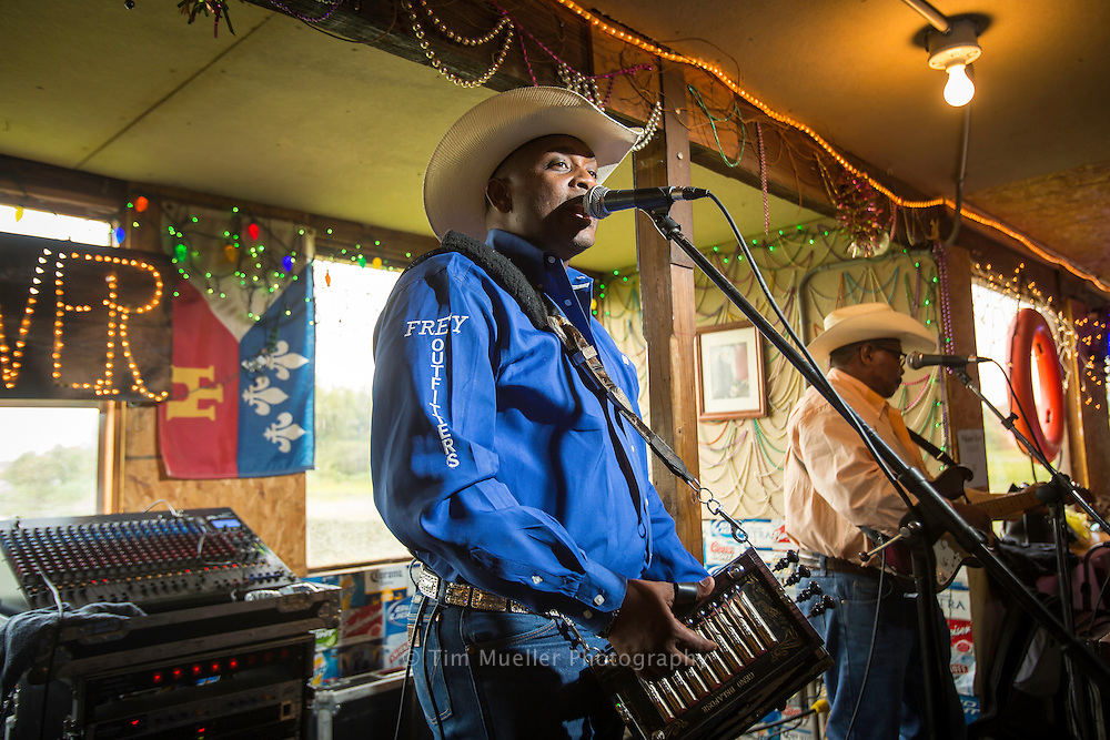 Geno Delafose & French Rockin' Boogie band performs Sunday at Whiskey River Landing in Henderson, La.