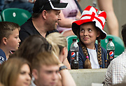 Twickenham, Surrey, United Kingdom.  Fans at the, Old Mutual Wealth Cup, England vs Barbarian's match, played at the  RFU. Twickenham Stadium, on Sunday   28/05/2017England    <br /> <br /> [Mandatory Credit Peter SPURRIER/Intersport Images]