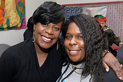Councilwoman Cherelle Parker made an appearance at the winter fest celebration at the Free Library branch in Olney, on December 16, 2018. (Bastiaan Slabbers for WHYY)