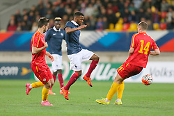 28.03.2016, Stade Mmarena, Le Mans, FRA, UEFA U21 Euro Qualifikation, Frankreich vs Mazedonien, Gruppe 3, im Bild lemar thomas // during the UEFA U21 Euro qualifier group 3 match between France and Macedonia at the Stade Mmarena in Le Mans, France on 2016/03/28. EXPA Pictures © 2016, PhotoCredit: EXPA/ Pressesports/ Vincent Michel<br /> <br /> *****ATTENTION - for AUT, SLO, CRO, SRB, BIH, MAZ, POL only*****