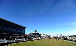 General view of Taunton Racecourse  - Photo mandatory by-line: Harry Trump/JMP - Mobile: 07966 386802 - 17/02/15 - SPORT - Equestrian - Horse Racing - Taunton Racecourse, Somerset, England.