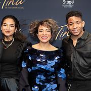 NLD/Utrecht/20200209 - Start inloop Tina Turner musical, Nurlaila Karim met haar kinderen