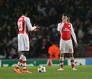 Arsenal's Aaron Ramsey looks on dejected after Anderlecht's second goal<br /> <br /> - Champions League Group D - Arsenal vs Anderlecht- Emirates Stadium - London - England - 4th November 2014  - Picture David Klein/Sportimage