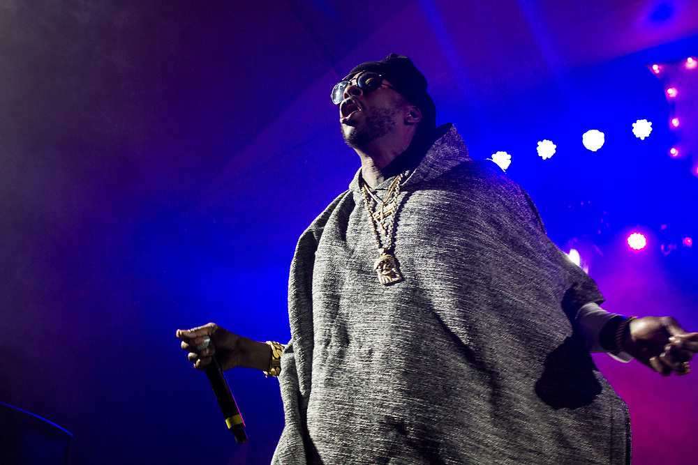 2 Chainz performing at Freaky Deaky in Chicago on October 30, 2015.